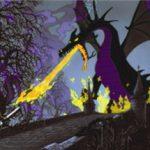 米(アメリカ)ディズニーワールドで竜が炎を上げて炎上!消火器を持った勇者現る!